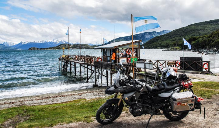 Adventure ride in Tierra del Fuego