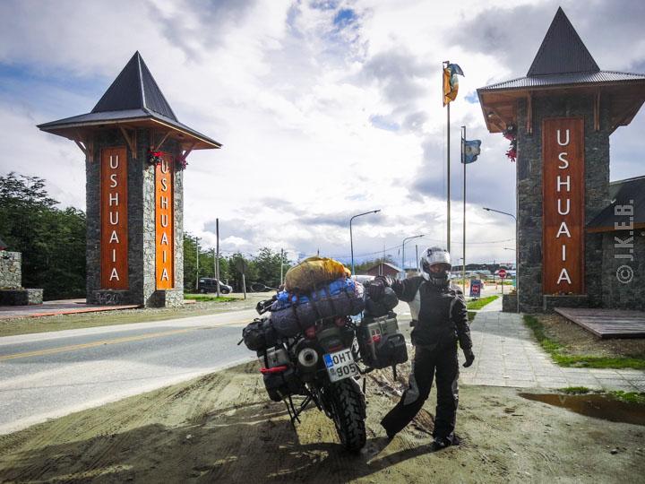 MotoGreece in Ushuaia