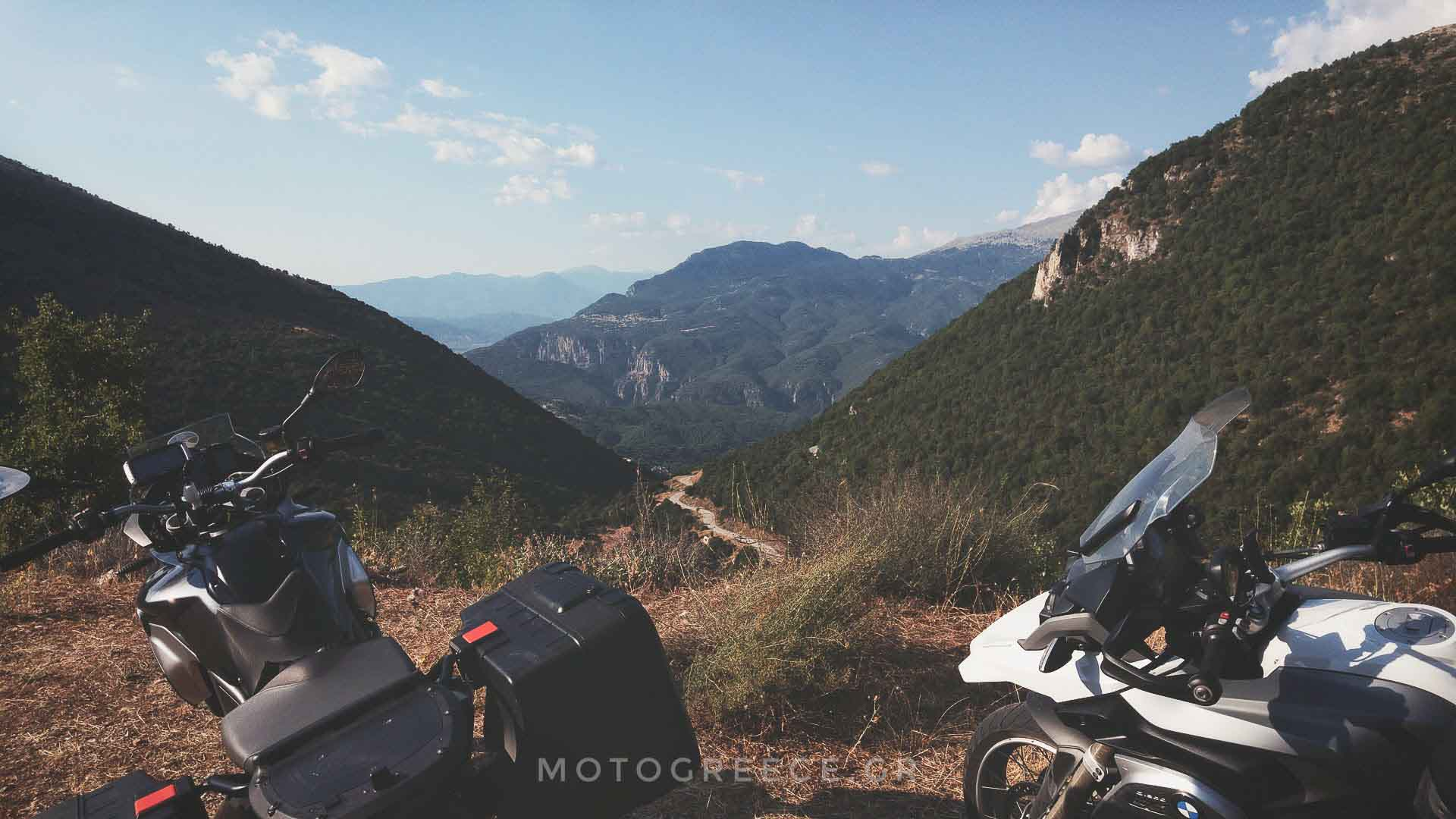 Self guided motorcycle tours in Greece