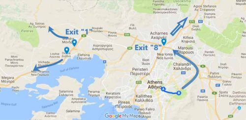 How to exit Athens fast and easy