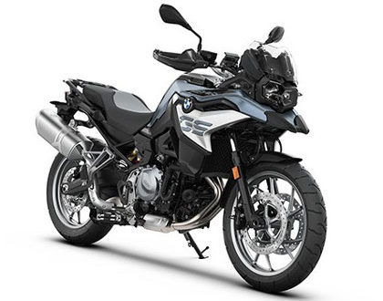 BMW F750GS rental in Athens Greece