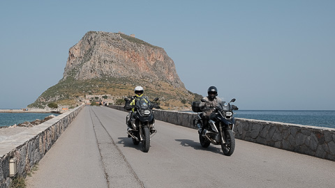 motorcycle tour of peloponnese with motogreece