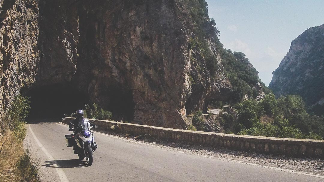 Southeast Peloponnese Motorcycle Tour
