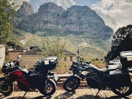 motorcycle tour zagoria
