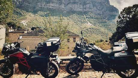 motorcycle tour zagoria