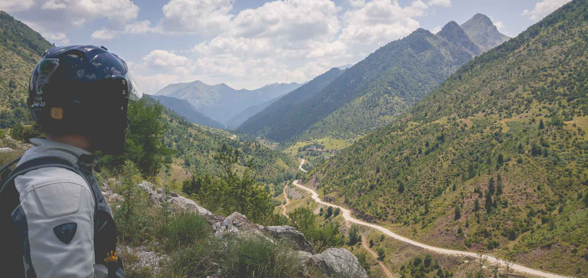 Motorcycling and Landscapes of Tzoumerka