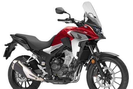 rent Honda CB500X in Athens