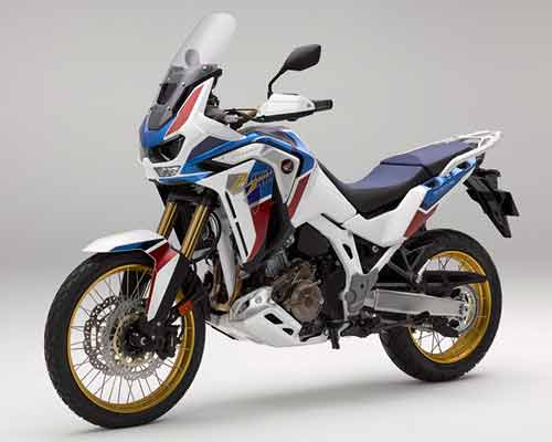rent Honda Africa Twin in Athens Greece