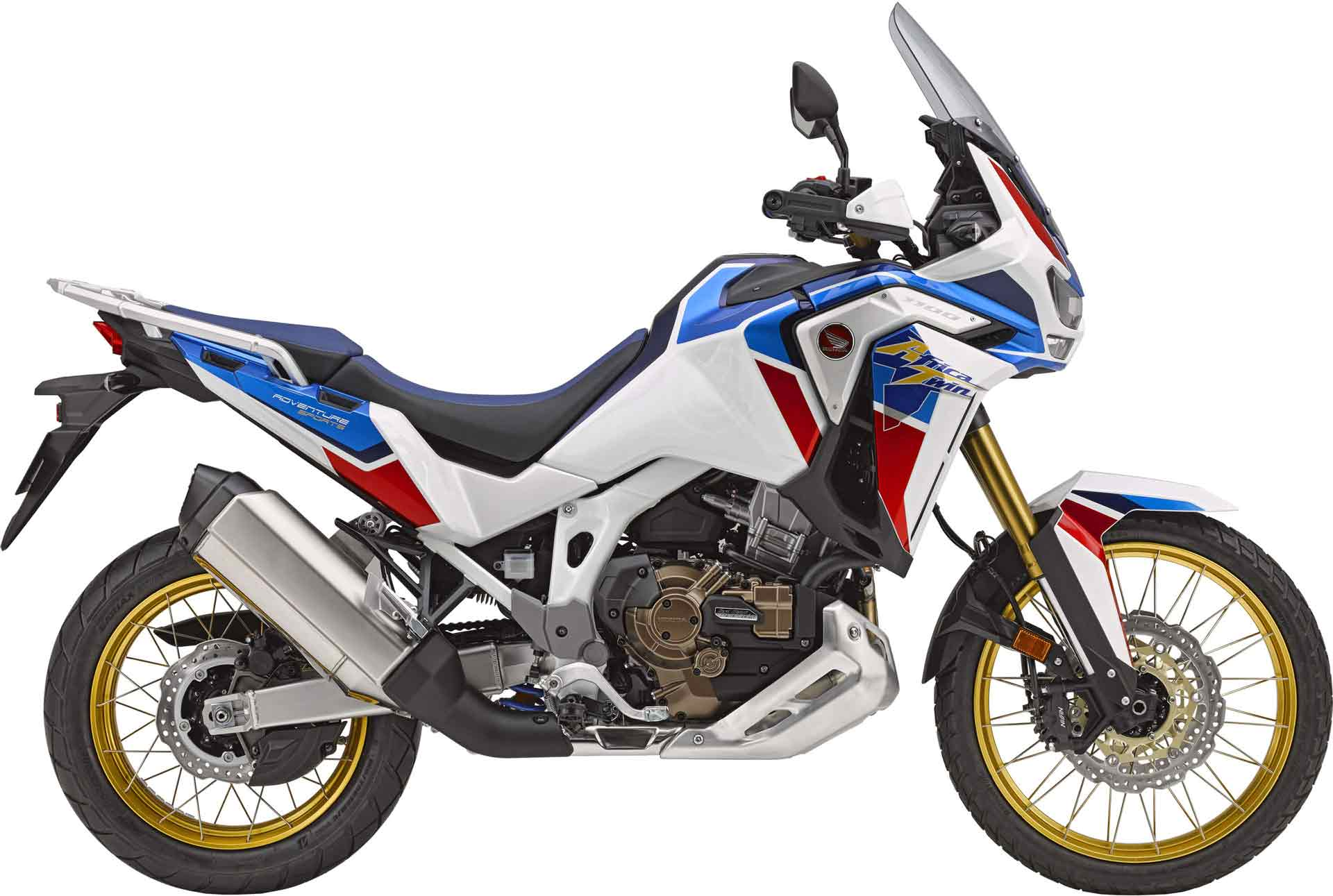 Rent a Honda Africa Twin Adventure Sports 1100 in Athens