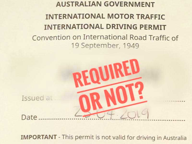 is the International Driver's Permit required for renting a motorcycle in Greece?